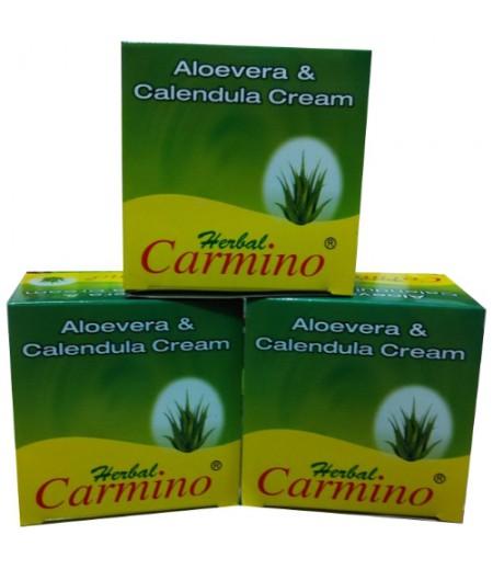 Carmino Aloevera Cream - Pack Of 3