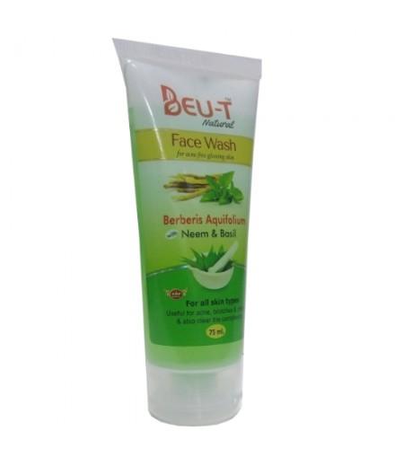 Berberis Aquifolium Facewash (Neem and Basil)