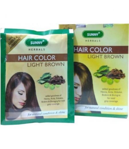 Herbal Hair Color - Light Brown