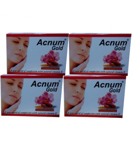 Acnum Gold Soap - Pack Of 4