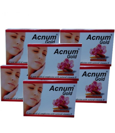Acnum Gold Soap - Pack Of 6