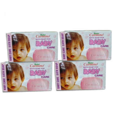 Carmino Herbal Baby Soap - Pack Of 4