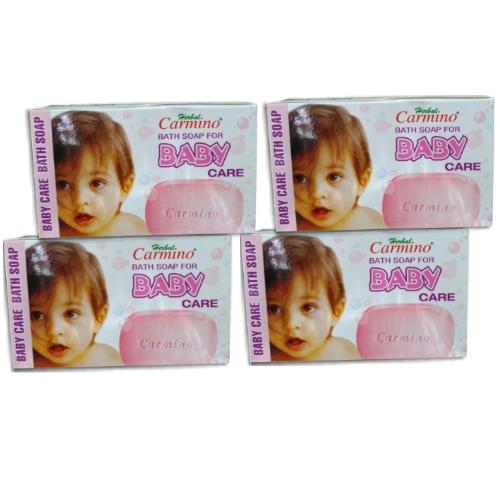 Carmino Herbal Baby Soap - Pack Of 4