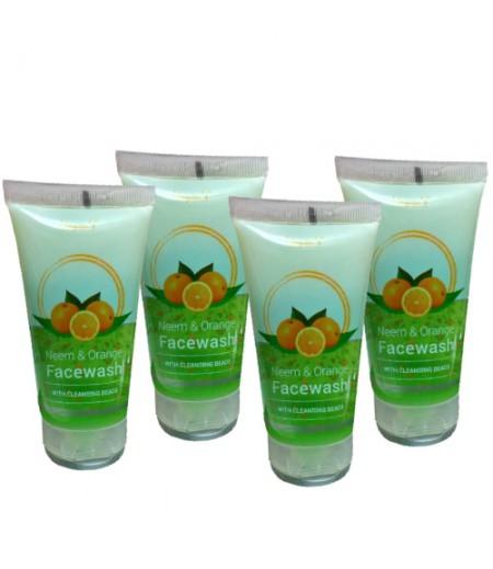 Mayons Neem And Orange Facewash  - Pack Of 4