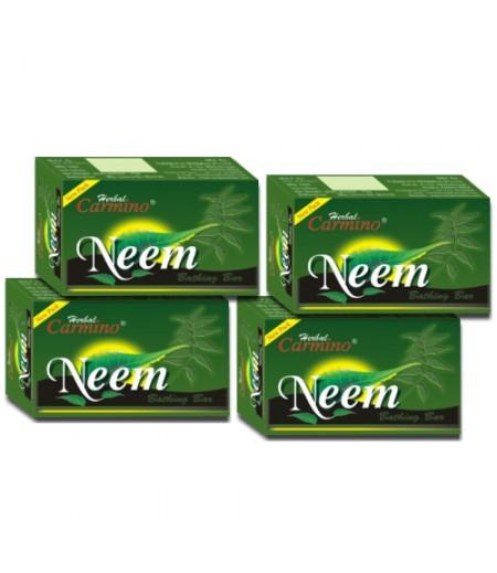 Carmino Neem Herbal Soap - Pack Of 4