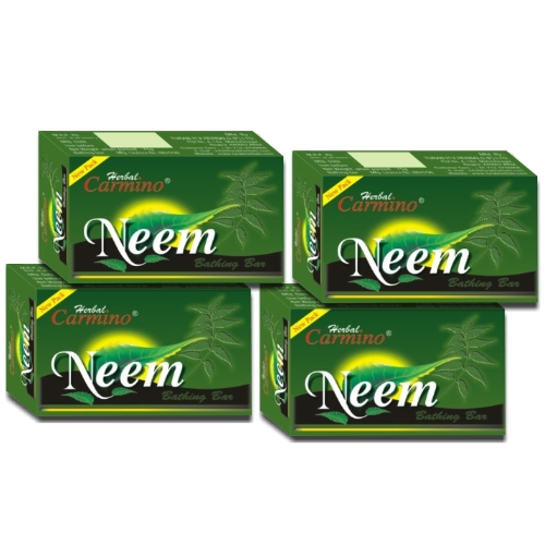 Carmino Neem Herbal Soap - Pack Of 4