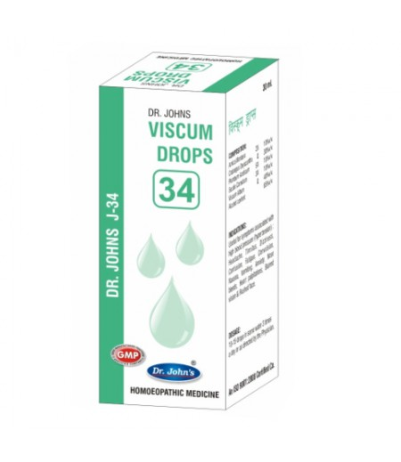 Viscum Drops - J34 (30 ml)