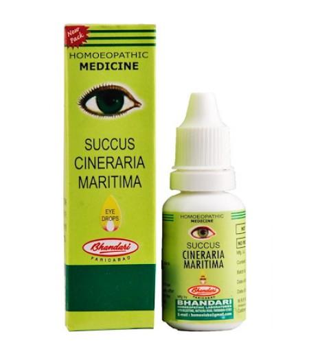 Succus Cineraria Maritima-Eye Drops (10 ml)