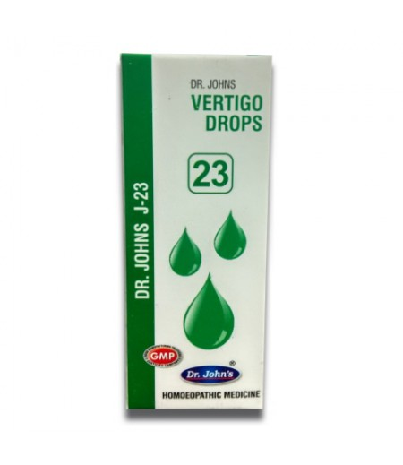 J23 - Vertigo Drops (30 ml)