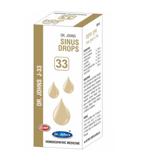 J33 - Sinus Drops (30 ml)