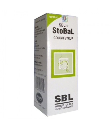 Stobal Cough Syrup (180 ml)