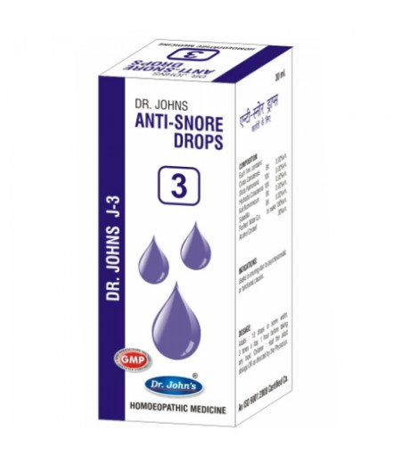 J3 - Anti Snore Drops (30 ml)