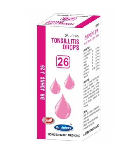 J26 - Tonsillitis Drops (30 ml)
