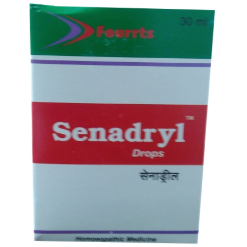 Fourrts Senadryl Drops is for Cough, Cold, Dyspnoea